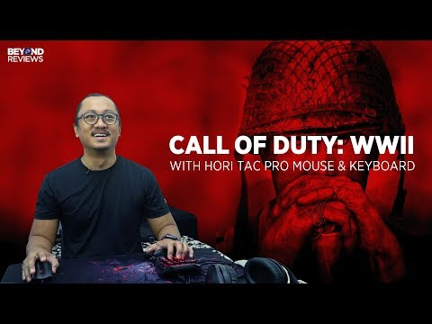 CALL OF DUTY: WWII With HORI TAC PRO MOUSE & KEYBOARD