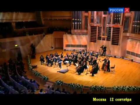 Юбилейный концерт Владимира Спивакова в Доме Музыки Часть 2