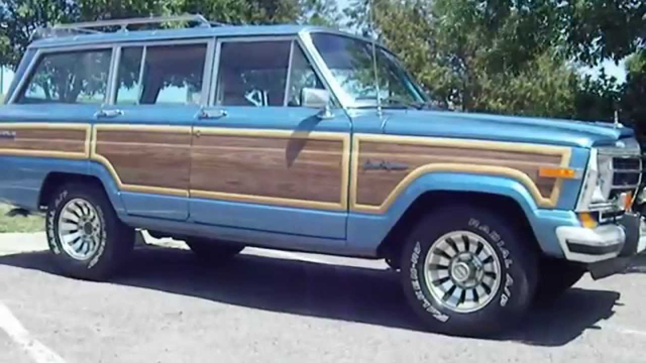 Jeep Grand Wagoneer For Sale >> RARE 1987 Jeep Grand Wagoneer Hard to find Spinnaker Blue Original! - YouTube