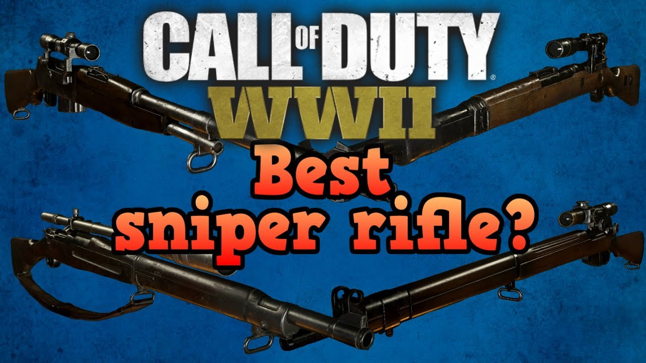 Best Sniper Rifle Call Of Duty World War 2 Guides Youtube