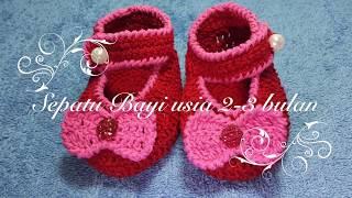 Download lagu Cara Merajut Sepatu Bayi Usia 2 3 Bulan MP3