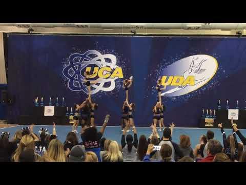 CJA Bombshells Extra Small Senior 5 UCA Northeast Championship