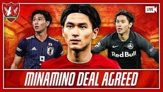 MINAMINO TO LIVERPOOL AGREED! | LFC Transfer News & Chat