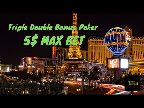 Game King Triple Double Bonus Poker 5$ MAX BET
