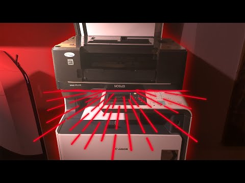 What happens if you photocopy a photocopier