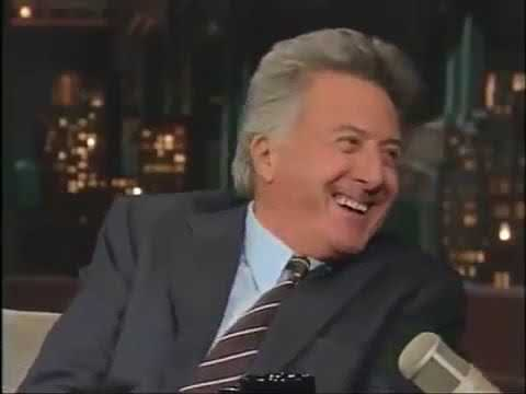Dustin Hoffman tells a dirty story on The Late Show with David Letterman