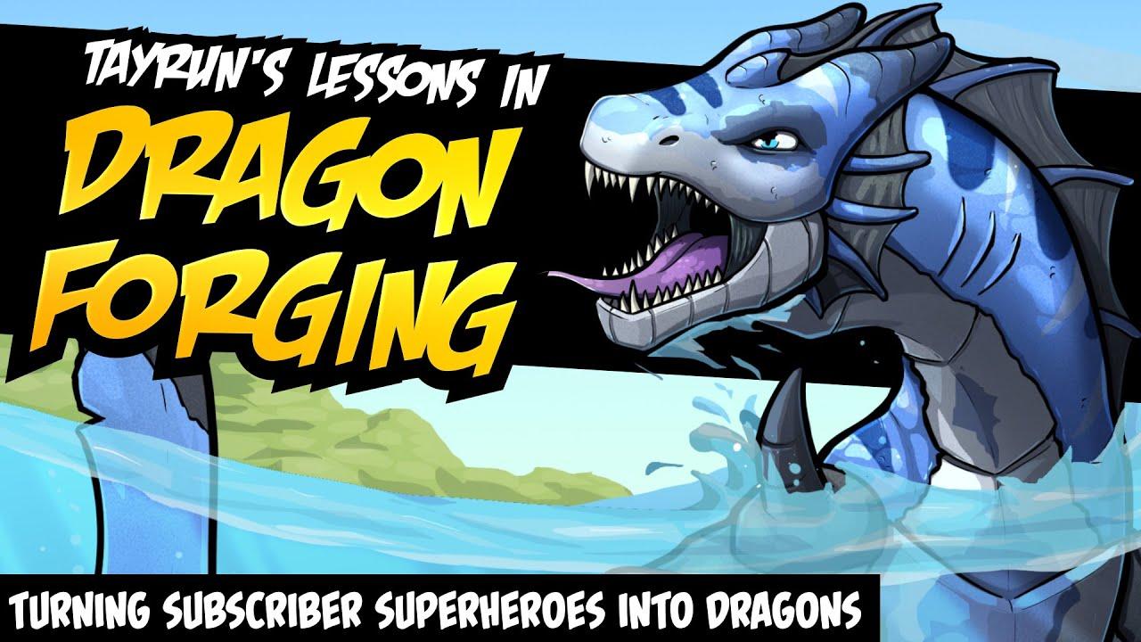 Tayrun's Lessons in Dragon Forging (A PopCross Original Story & Speedpaint)