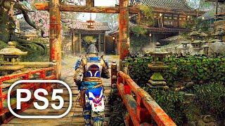 PS5 Gameplay Legend Of Samurai 4K ULTRA HD - For Honor