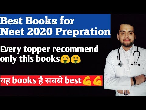 Best Books 2020 Best books for NEET 2020 prepration 🤑🤑   YouTube