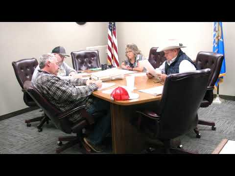 Woods County Commissioner's October 29, 2018