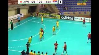 ハンドボール 世界ジュニア JPN vs SER 1st