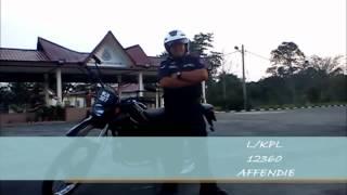 POLIS BANTUAN FELDA - KURSUS ASAS TRAFIK DAN RONDAAN MOTOSIKAL