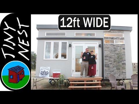 Wide Tiny House - Om Ah Homes