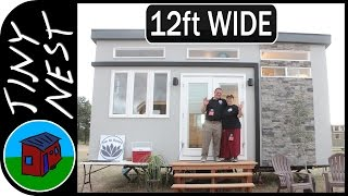Wide Tiny House - Om Ah Homes