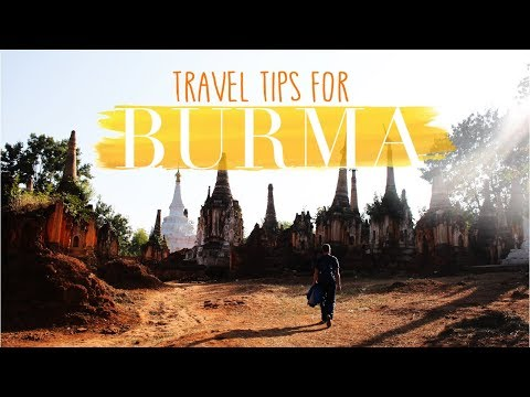 Travel TIPS for MYANMAR! (Burma)
