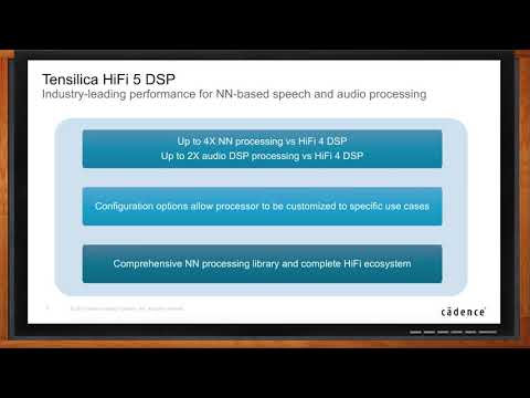 Tensilica HiFi DSP -- Cadence Design Systems