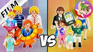Playmobil Rodzina Wróblewskich | Wakacje rodziny Wróblewskich kontra Rodziny Bogackich