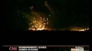 M825A1 155mm White Phosphorus Artillery Shoot Fallujah