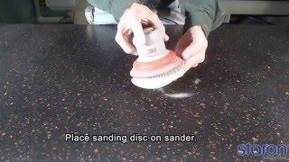 Матовая полировка искусственного камня(Процесс полировки искусственного камня до матового состояния Наша компания изготавливает: - кухонные..., 2016-04-06T15:21:45.000Z)