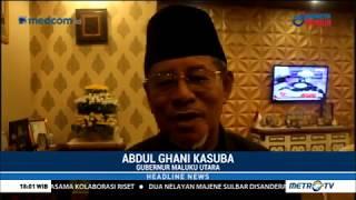 Wow ! Gubernur Maluku Utara Dukung Jokowi-Ma