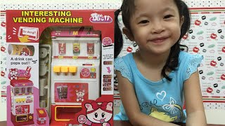 Soft drinks automatic vending machine kid toy
