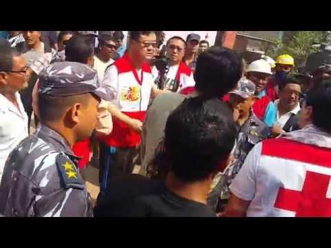 Jackie Chan in Nepal Visit