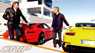 Das Bruder Duell | Porsche 911 GT3 vs. 911 Turbo S | GRIP