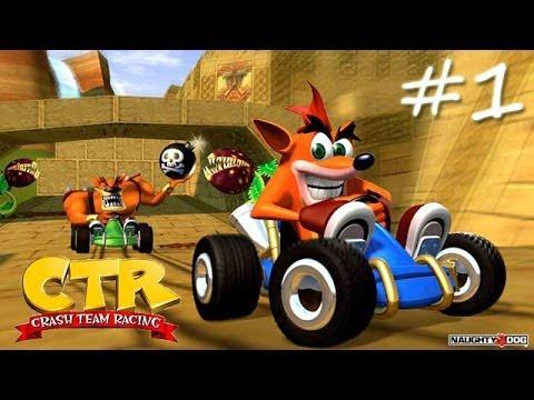 Прохождение Crash Team Racing #1 - Пляж Н. Сэнити