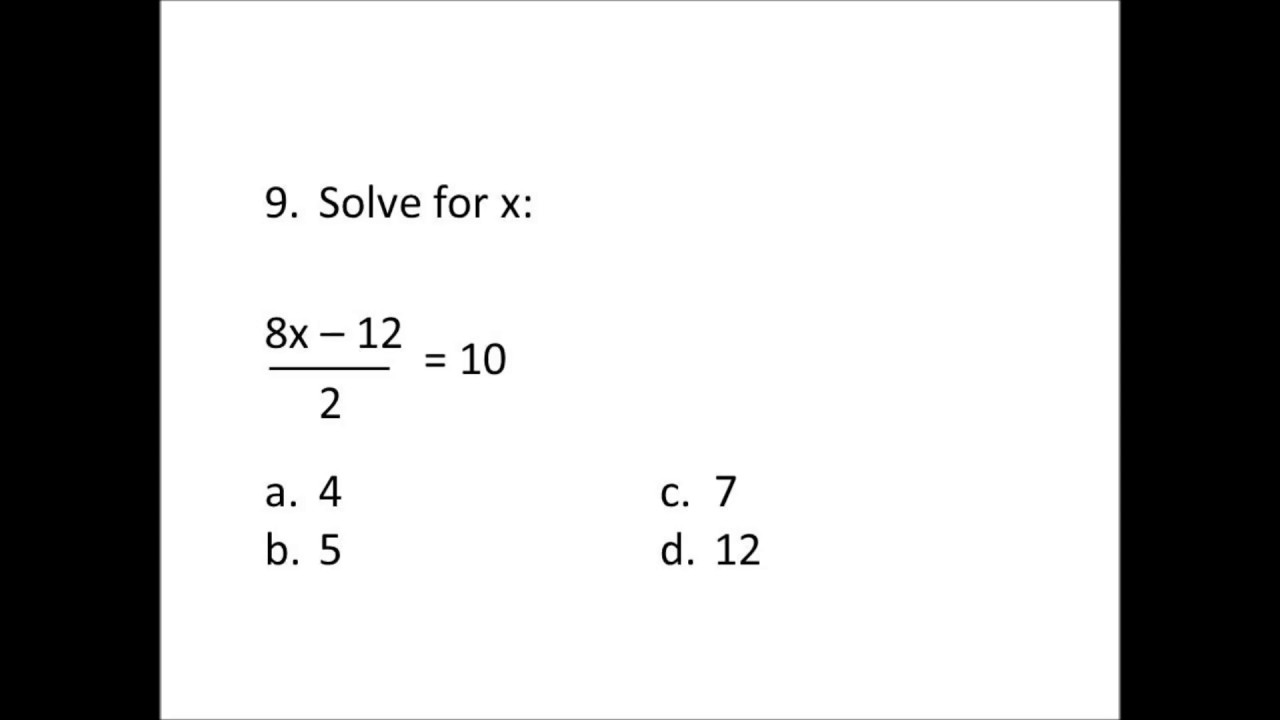 Silent Free IAAT (Iowa Algebra Aptitude Test) Full Sample Test 3 : Practice  Questions for Test 3