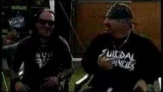 Adie kitachi with Mike Muir of Suicidal Tendancies