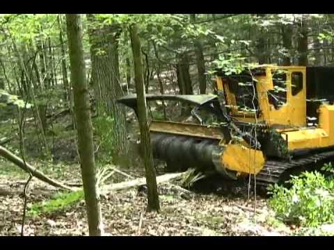 Bandit Model 5000 Forestry Mower Youtube