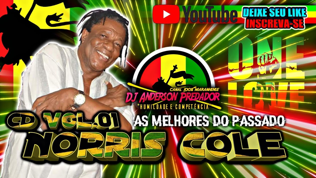 Cd Norris Cole As Melhores The Best Reggae Youtube