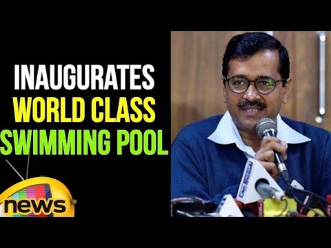 Delhi CM Arvind Kejriwal Inaugurates World Class Swimming Pool At RSBV School | Mango News