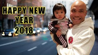 Happy new year 2018 from Master Wong