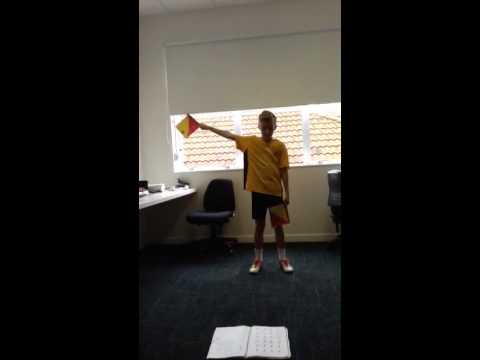 Room 27 semaphore flags #20