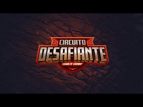 Stream: LoL eSports BR - Circuito Desafiante 2020: 2ª Etapa - Fase E