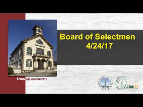 Board of Selectmen 4/24/17