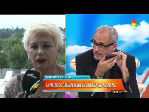 Carmen Barbieri habló de las amenazas de muerte: No les tengo miedo