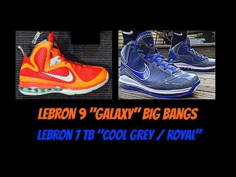 Nike LeBron 9  Galaxy  Big Bangs