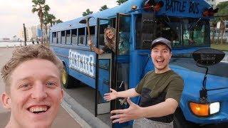 Eu tenho um real Fortnite Battle Bus... (#3 VLOG)