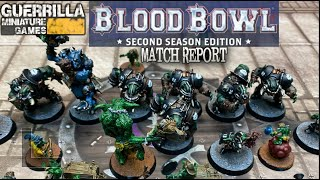 Blood Bowl Match Report - Black Orcs vs. Snotlings!