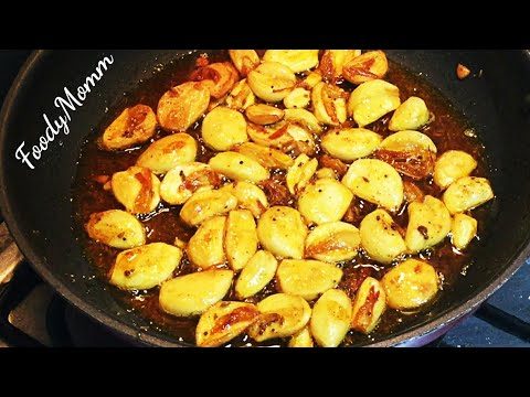 crispy-garlic-sabji-|-lehsun-fry-masala-|-लहसुन-का-अचार--instant-garlic-pickle-|-lehsun-ka-achaar