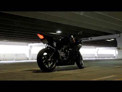 2008 Yamaha R6 Jardine GP-1 Exhaust 1080p HD!!!