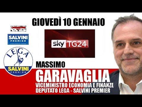 🔴 Vice Ministro Economia e Finanze on. Massimo Garavaglia a Sky Economia (10/01/2019).