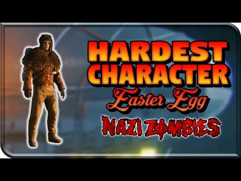 Unlocking The Hardest Character EASTER EGG Challenge In ZOMBIES (Mountaineer Challenge WW2 Zombies