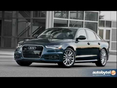 2012 Audi A6 Test Drive & Luxury Car Review