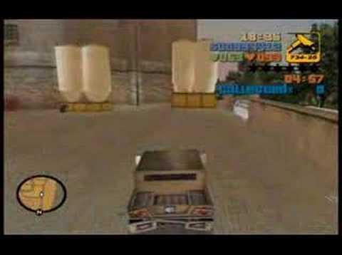 Grand Theft Auto 3 (PC) Mission 63 - Bullion Run