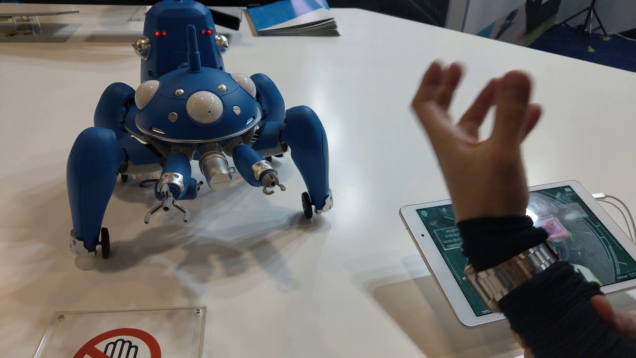 Cerevo Creates Section 9 S Tachikoma Smart Robot From Ghost In The Shell Ces 2018 4k Video Youtube
