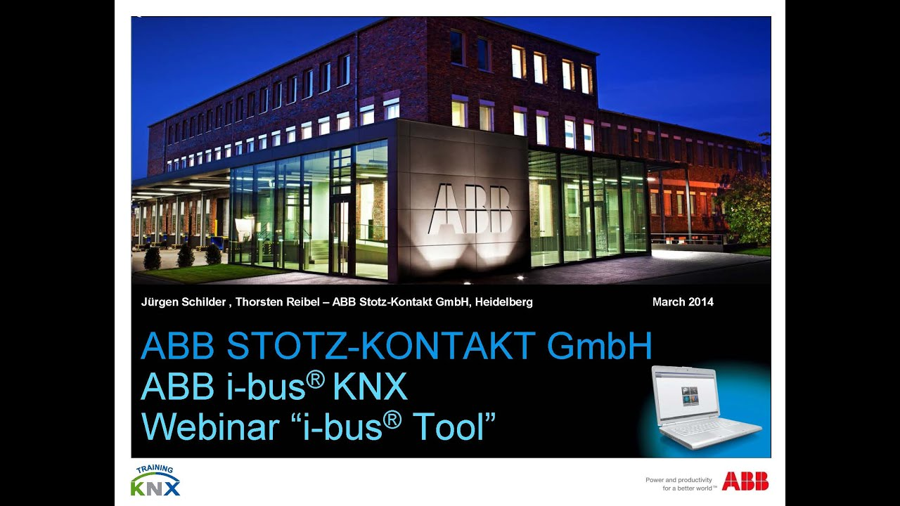 2014 03 webinar about the abb i bus tool youtube. Black Bedroom Furniture Sets. Home Design Ideas