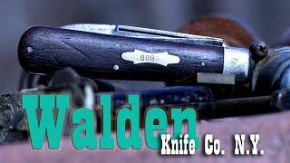 Video Antique Walden Knife Co. N.Y. Pocket Knife download MP3, 3GP, MP4, WEBM, AVI, FLV Agustus 2018